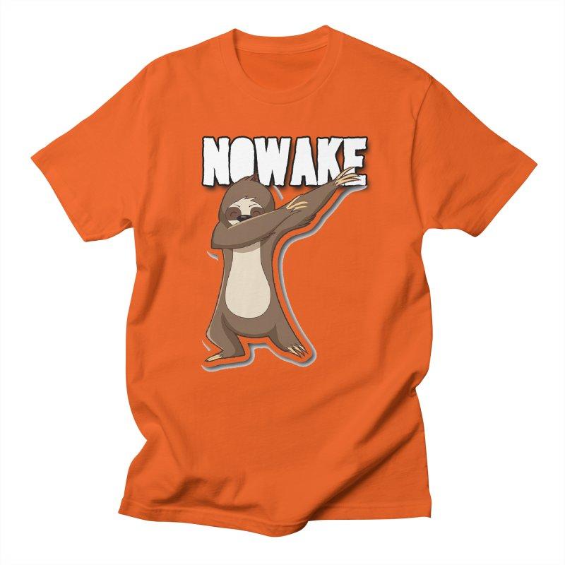 NOWAKE Dabbing Sloth Women's Regular Unisex T-Shirt by NOWAKE's Artist Shop