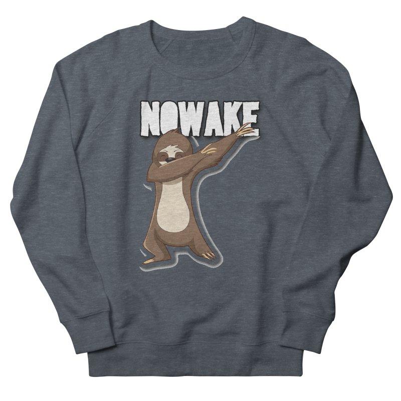 NOWAKE Dabbing Sloth Men's French Terry Sweatshirt by NOWAKE's Artist Shop