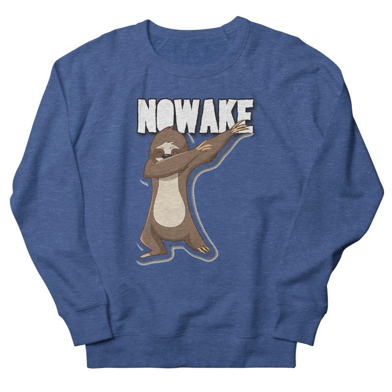 NOWAKE Dabbing Sloth Men's Sweatshirt by NOWAKE's Artist Shop