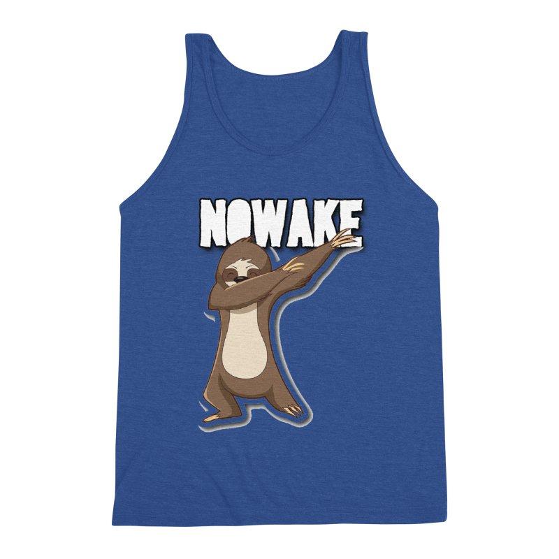 NOWAKE Dabbing Sloth Men's Tank by NOWAKE's Artist Shop