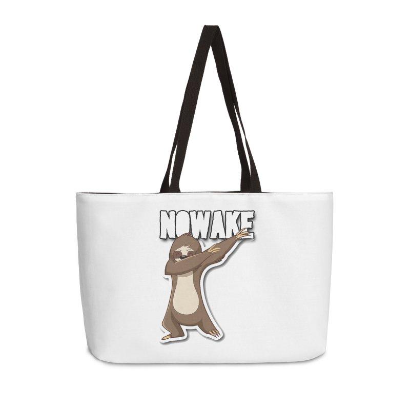 NOWAKE Dabbing Sloth Accessories Bag by NOWAKE's Artist Shop