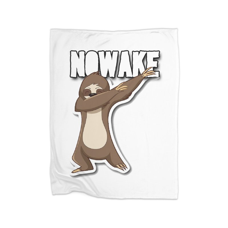 NOWAKE Dabbing Sloth Home Blanket by NOWAKE's Artist Shop