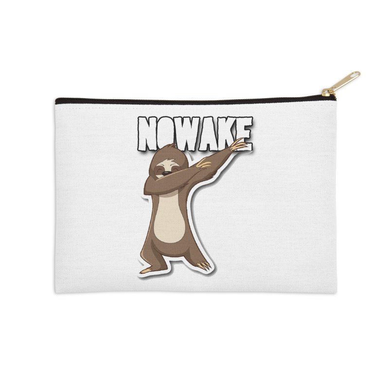 NOWAKE Dabbing Sloth Accessories Zip Pouch by NOWAKE's Artist Shop