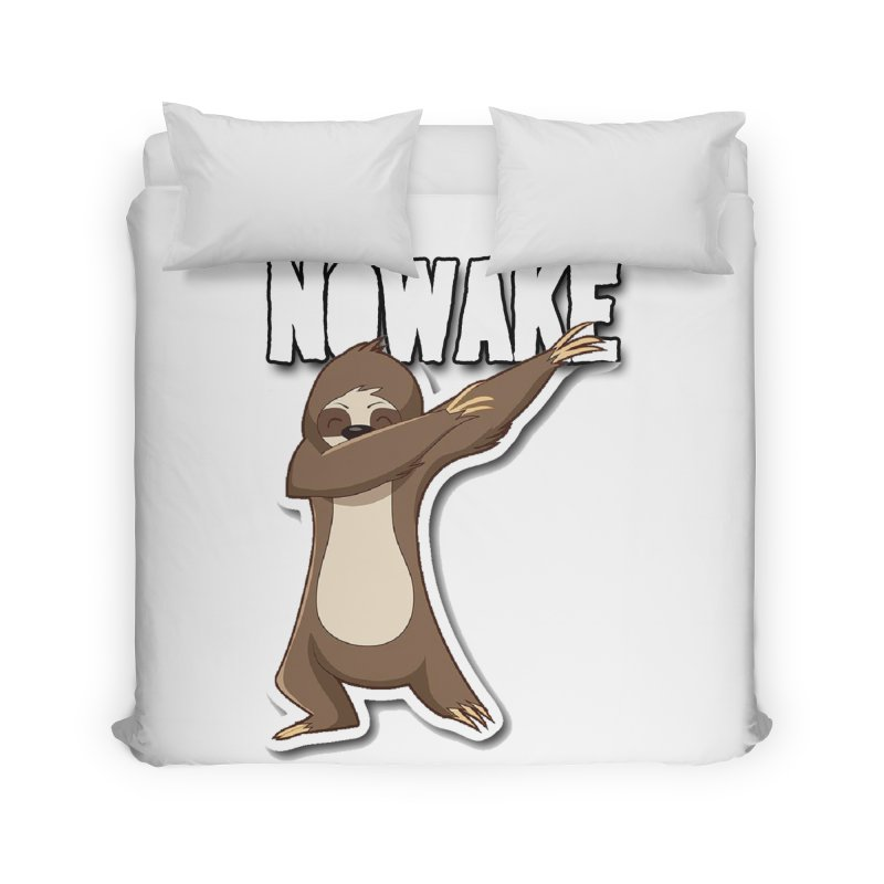 NOWAKE Dabbing Sloth Home Duvet by NOWAKE's Artist Shop