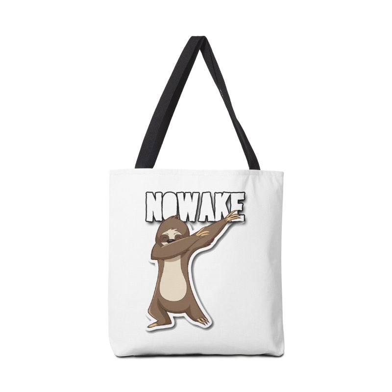 NOWAKE Dabbing Sloth Accessories Tote Bag Bag by NOWAKE's Artist Shop