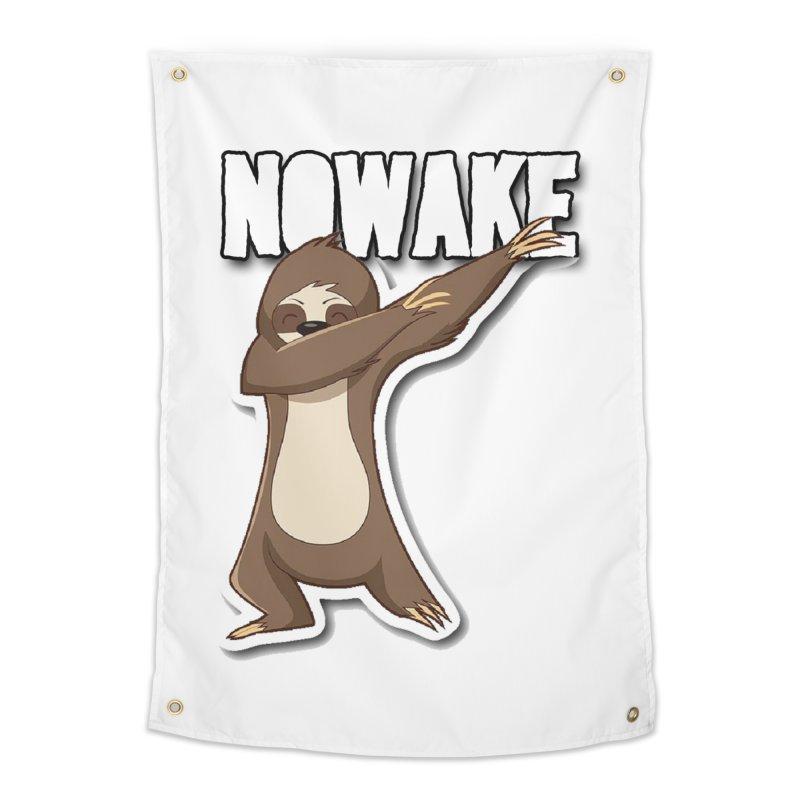 NOWAKE Dabbing Sloth Home Tapestry by NOWAKE's Artist Shop
