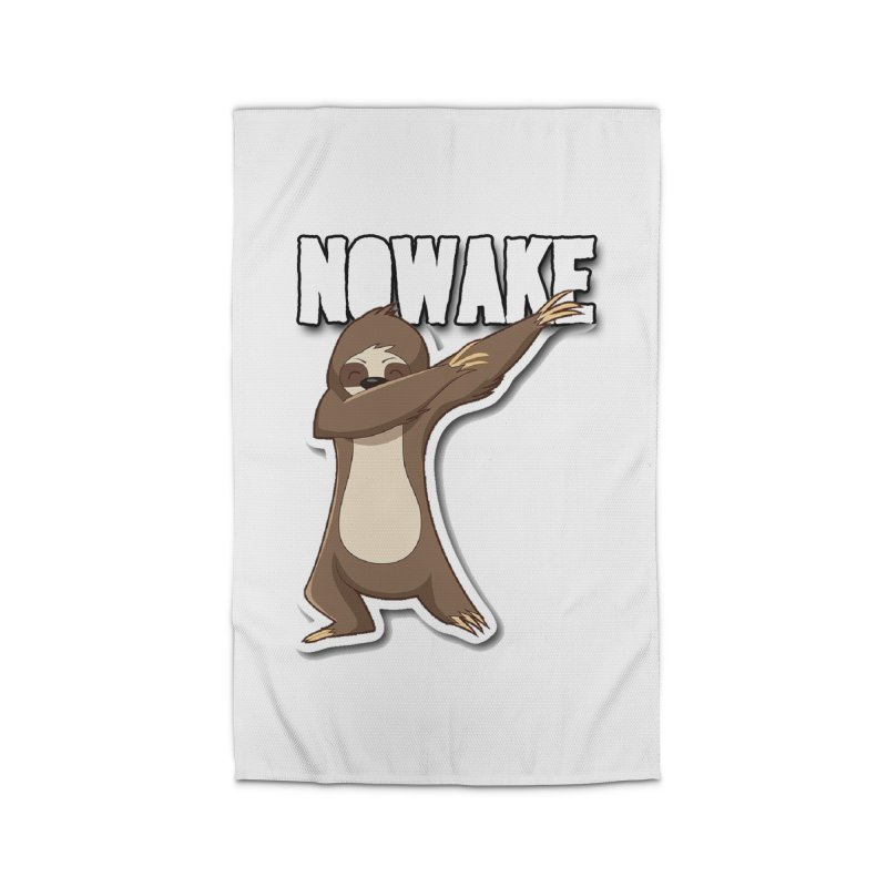 NOWAKE Dabbing Sloth Home Rug by NOWAKE's Artist Shop