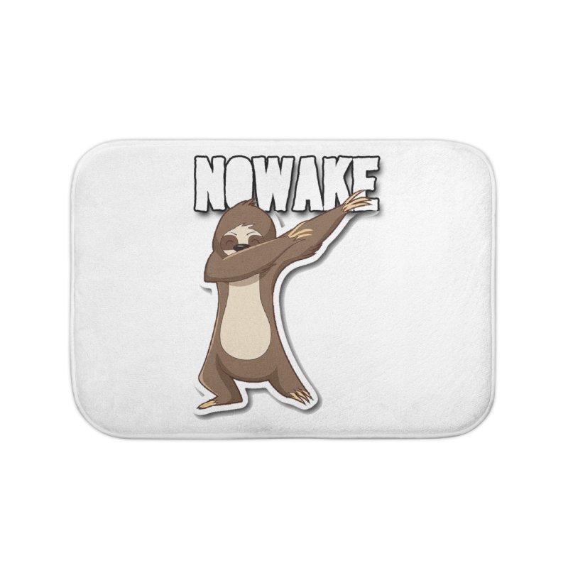 NOWAKE Dabbing Sloth Home Bath Mat by NOWAKE's Artist Shop