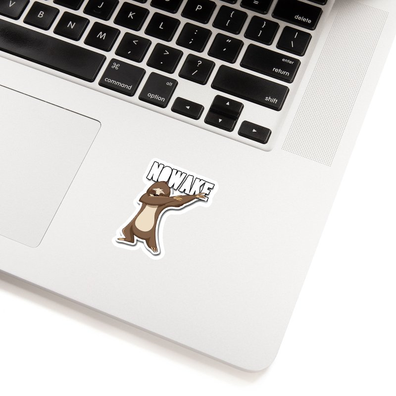 NOWAKE Dabbing Sloth Accessories Sticker by NOWAKE's Artist Shop
