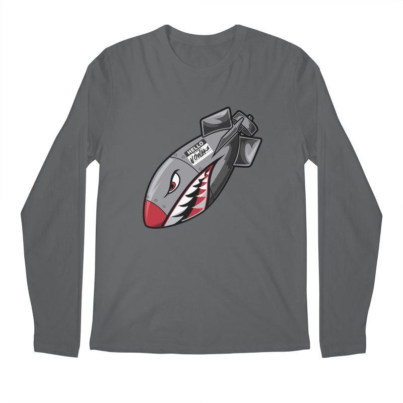 Incoming Men's Longsleeve T-Shirt by NOWAKE's Artist Shop