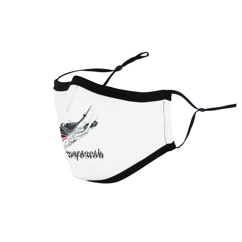 Warplane Accessories Face Mask by NOWAKE's Artist Shop