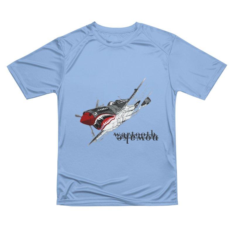 Warplane Men's T-Shirt by NOWAKE's Artist Shop