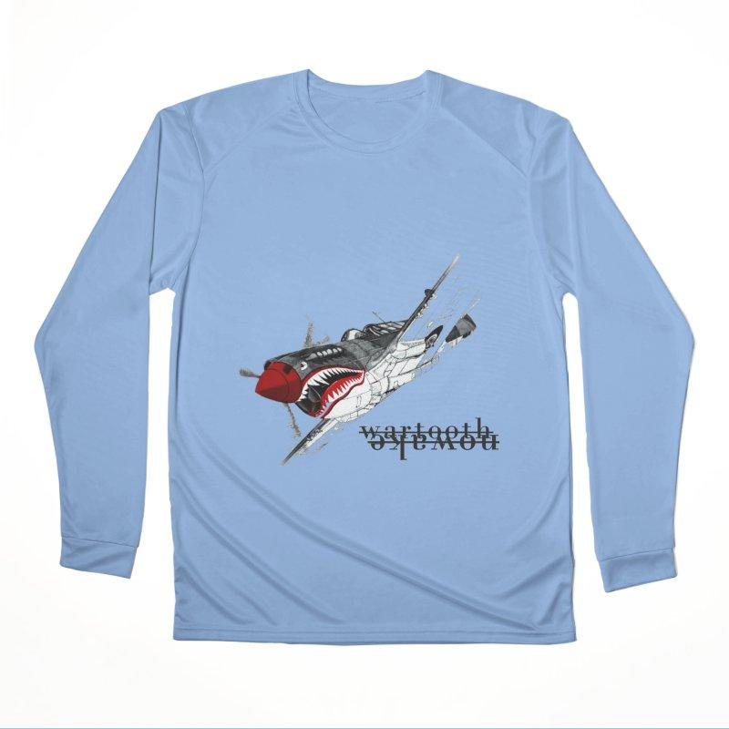 Warplane Women's Longsleeve T-Shirt by NOWAKE's Artist Shop