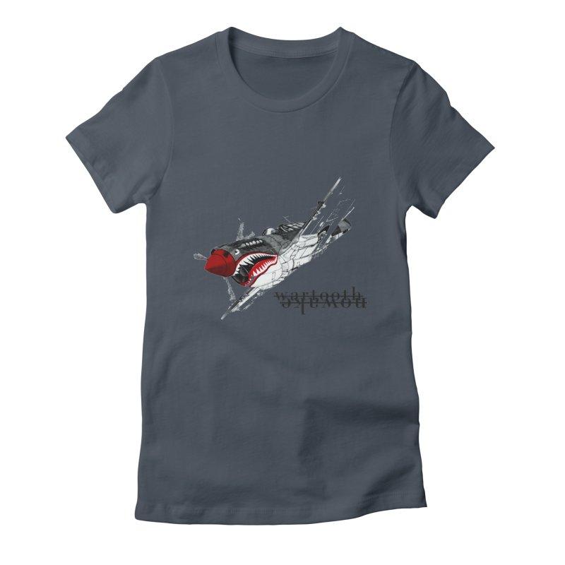 Warplane Women's T-Shirt by NOWAKE's Artist Shop
