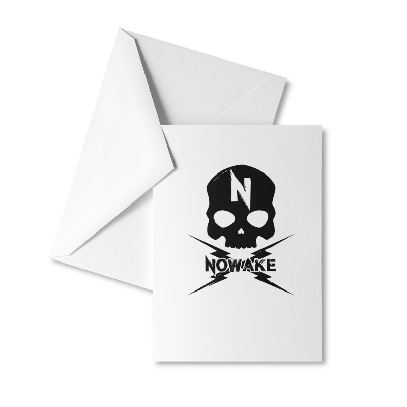 Skullage Accessories Greeting Card by NOWAKE's Artist Shop