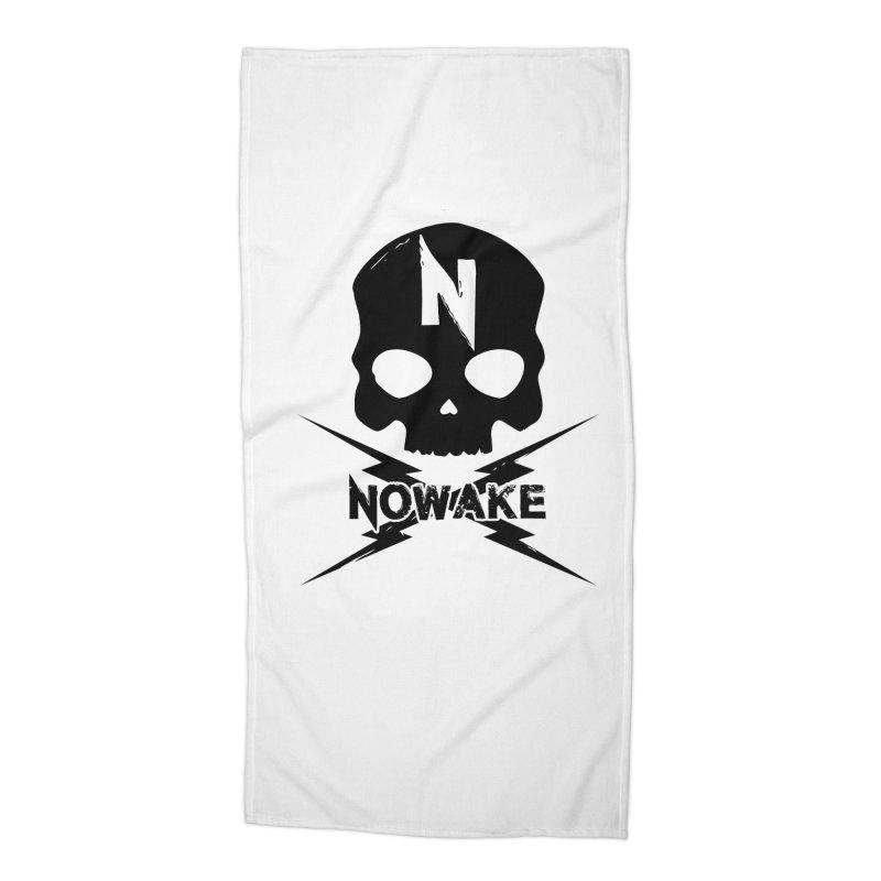 Skullage Accessories Beach Towel by NOWAKE's Artist Shop