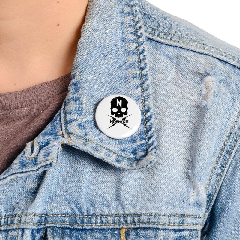 Skullage Accessories Button by NOWAKE's Artist Shop