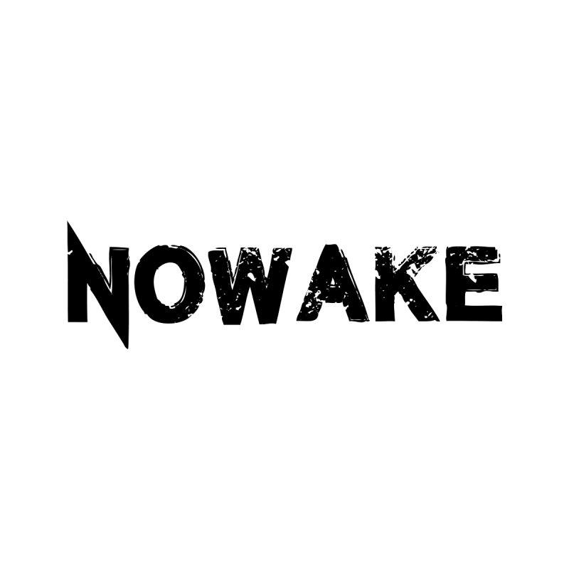 NOWAKE Simple Logo (low) by NOWAKE's Artist Shop