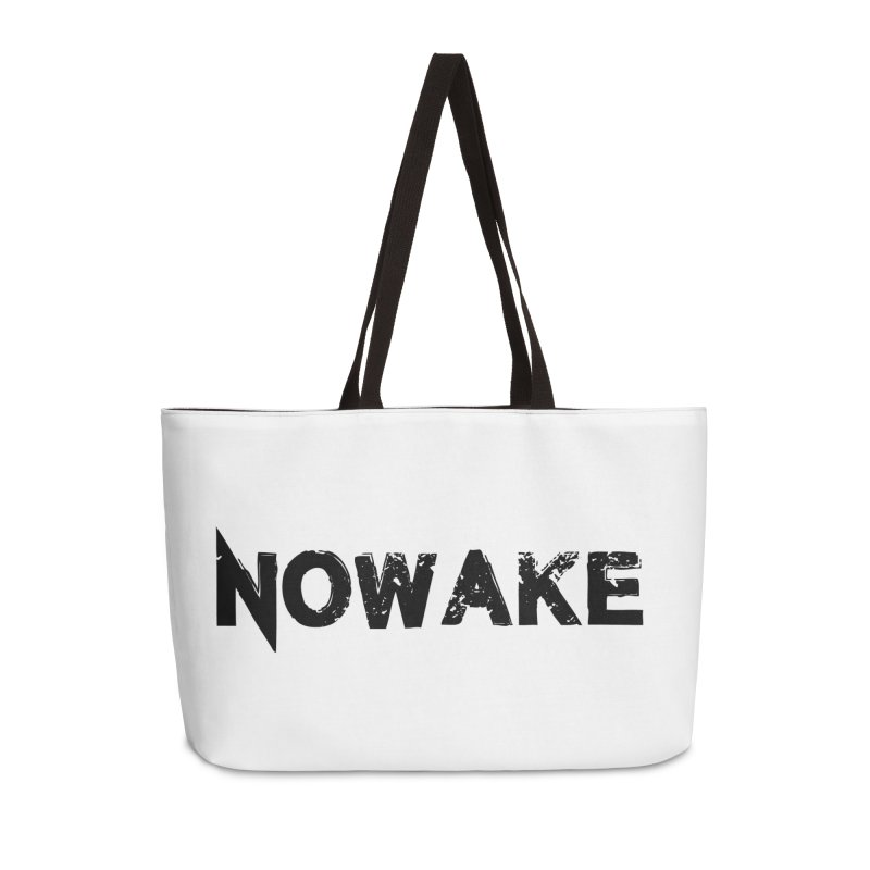 NOWAKE Simple Logo (low) Accessories Bag by NOWAKE's Artist Shop