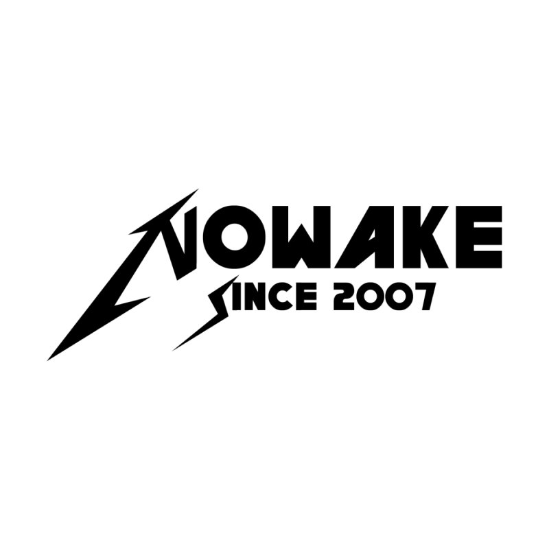"NOWAKE ""MetalliWake"" Logo Accessories Notebook by NOWAKE's Artist Shop"
