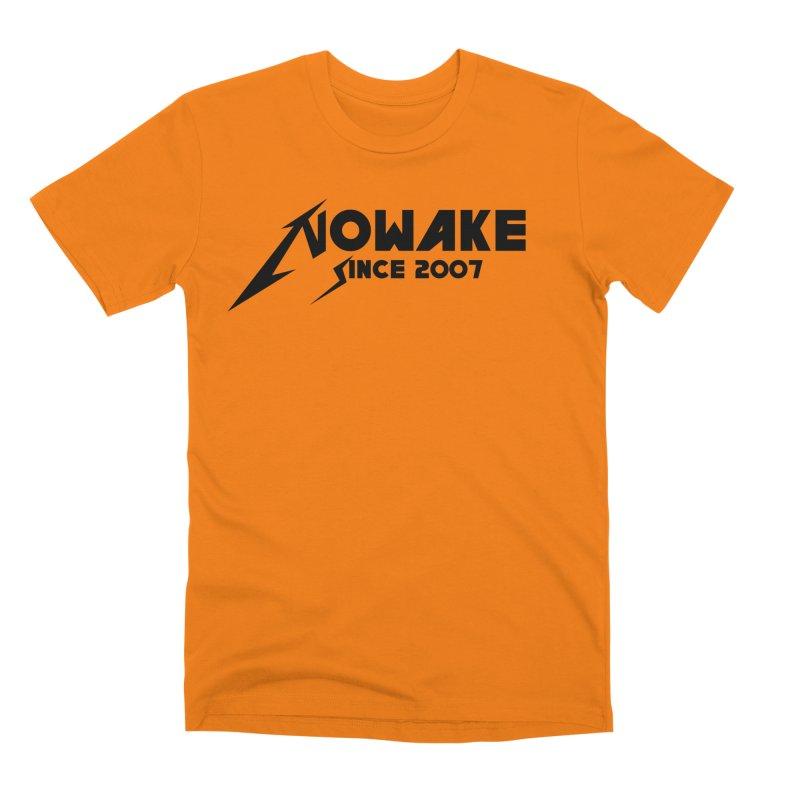 """NOWAKE """"MetalliWake"""" Logo Men's T-Shirt by NOWAKE's Artist Shop"""
