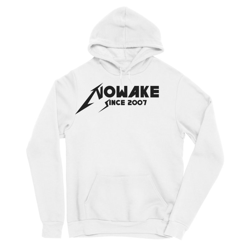 "NOWAKE ""MetalliWake"" Logo Men's Sponge Fleece Pullover Hoody by NOWAKE's Artist Shop"