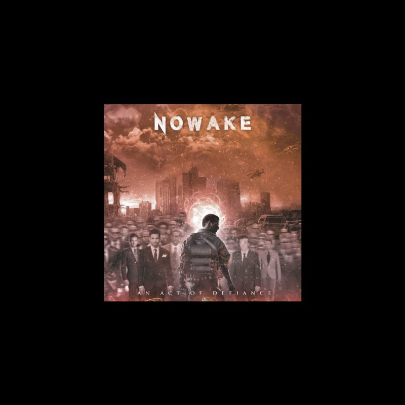 "NOWAKE ""An Act of Defiance"" Album Cover Home Mounted Acrylic Print by NOWAKE's Artist Shop"
