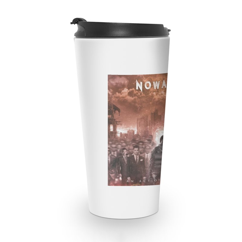 "NOWAKE ""An Act of Defiance"" Album Cover Accessories Travel Mug by NOWAKE's Artist Shop"