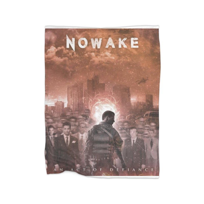 "NOWAKE ""An Act of Defiance"" Album Cover Home Blanket by NOWAKE's Artist Shop"