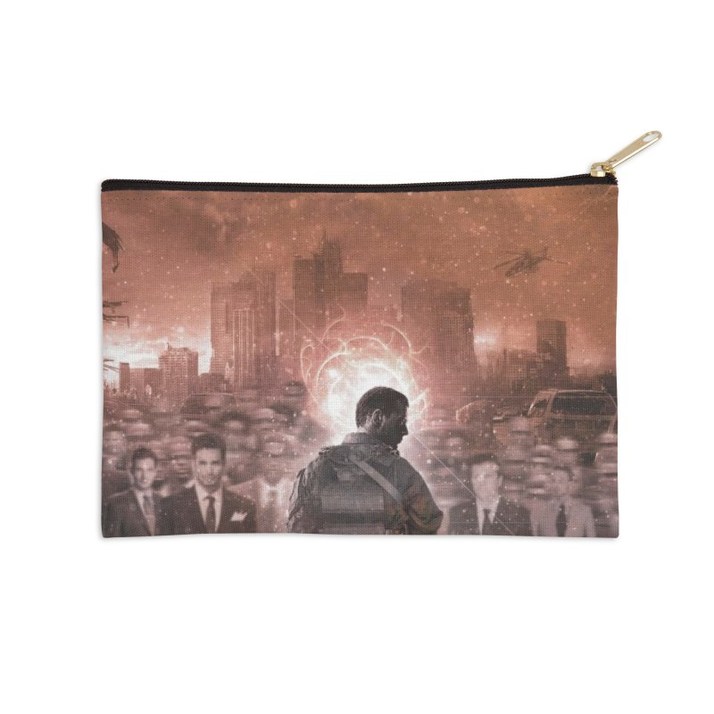 "NOWAKE ""An Act of Defiance"" Album Cover Accessories Zip Pouch by NOWAKE's Artist Shop"