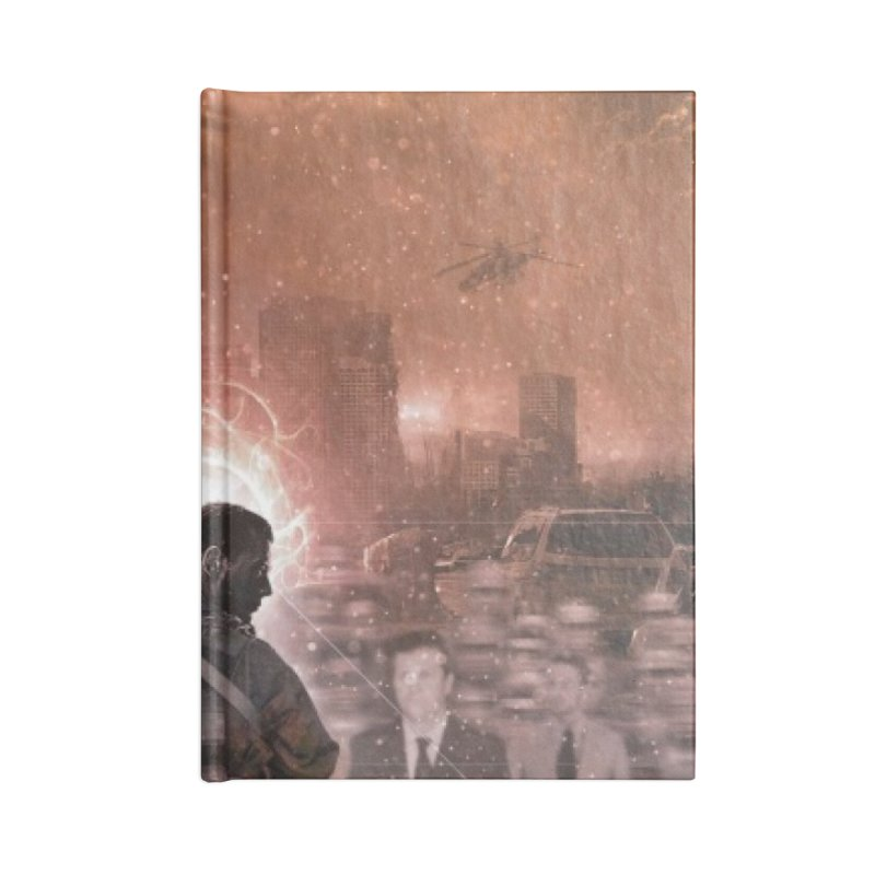 """NOWAKE """"An Act of Defiance"""" Album Cover Accessories Lined Journal Notebook by NOWAKE's Artist Shop"""