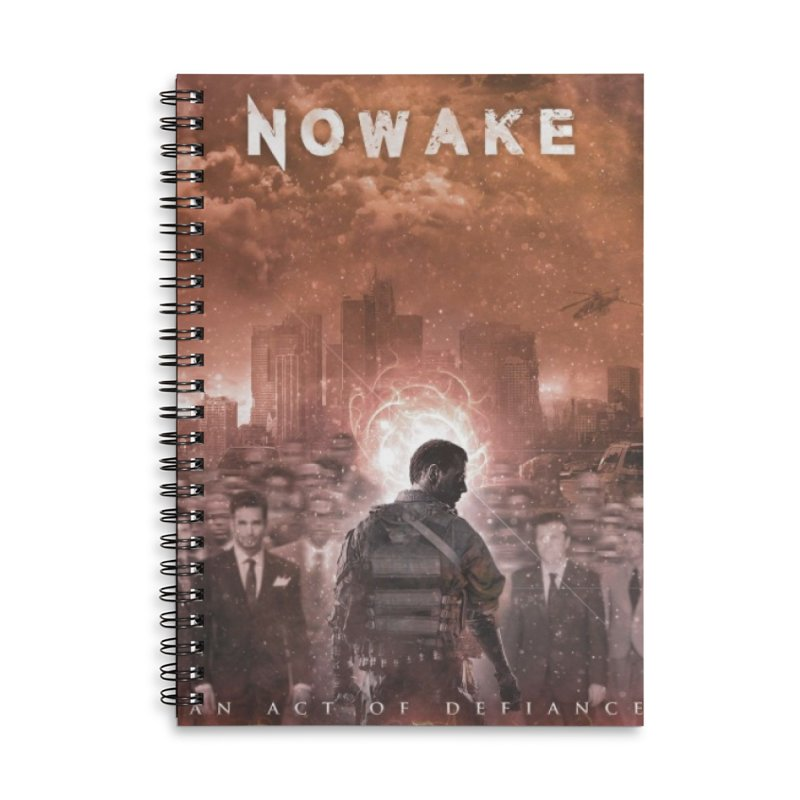 """NOWAKE """"An Act of Defiance"""" Album Cover Accessories Notebook by NOWAKE's Artist Shop"""