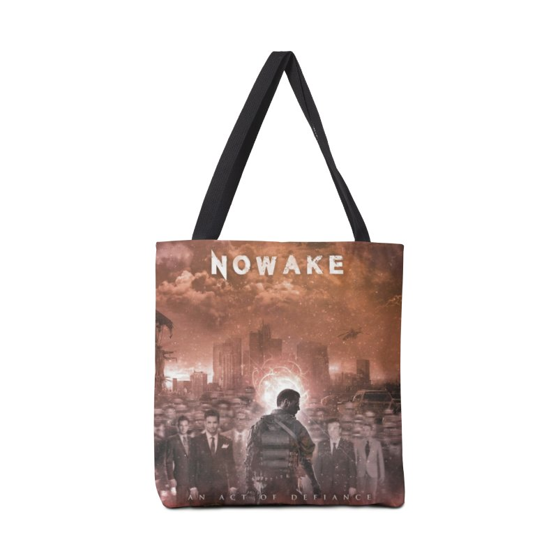 "NOWAKE ""An Act of Defiance"" Album Cover Accessories Tote Bag Bag by NOWAKE's Artist Shop"