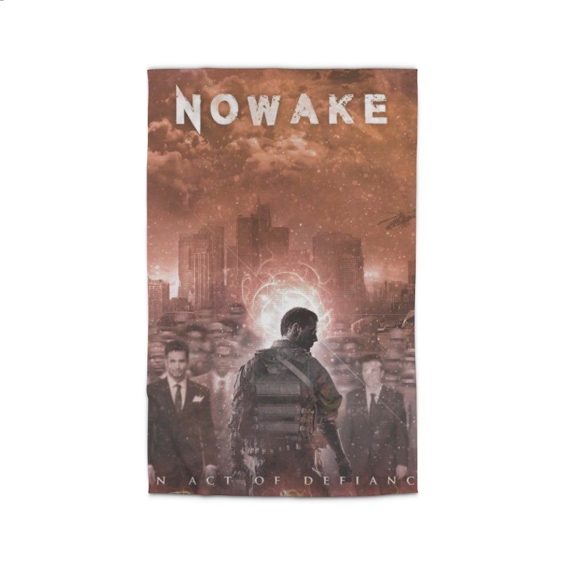 """NOWAKE """"An Act of Defiance"""" Album Cover Home Rug by NOWAKE's Artist Shop"""