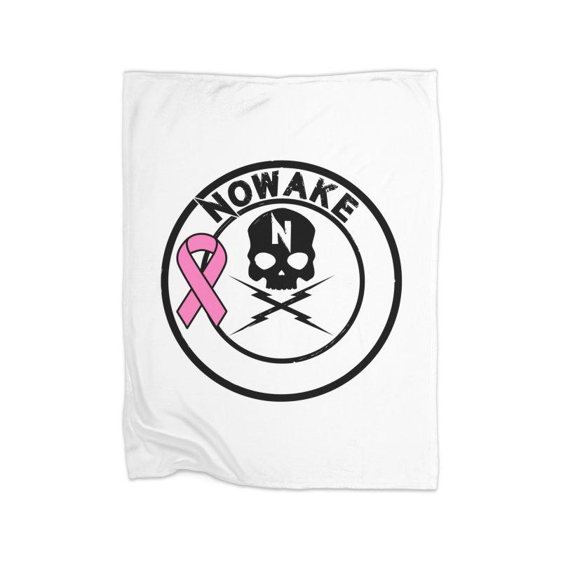 NOWAKE BCA Skull Logo Home Blanket by NOWAKE's Artist Shop