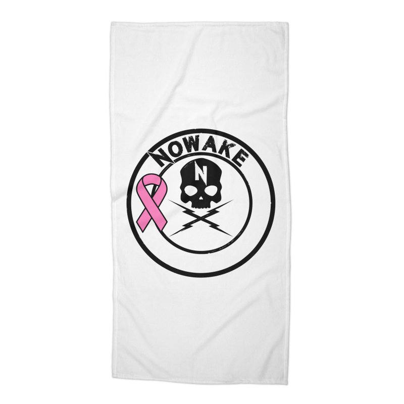 NOWAKE BCA Skull Logo Accessories Beach Towel by NOWAKE's Artist Shop