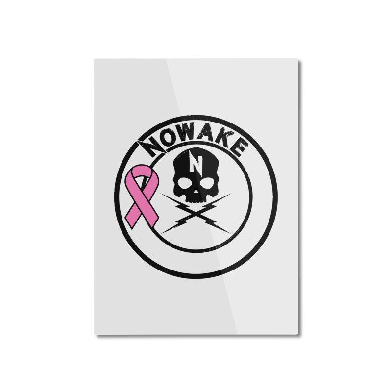 NOWAKE BCA Skull Logo Home Mounted Aluminum Print by NOWAKE's Artist Shop