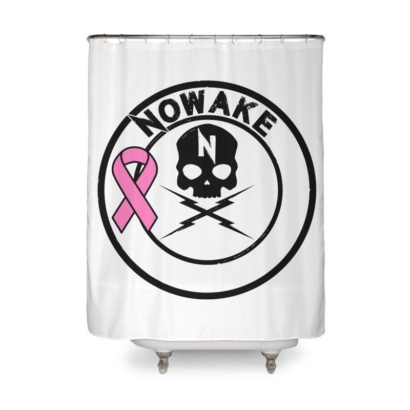 NOWAKE BCA Skull Logo Home Shower Curtain by NOWAKE's Artist Shop