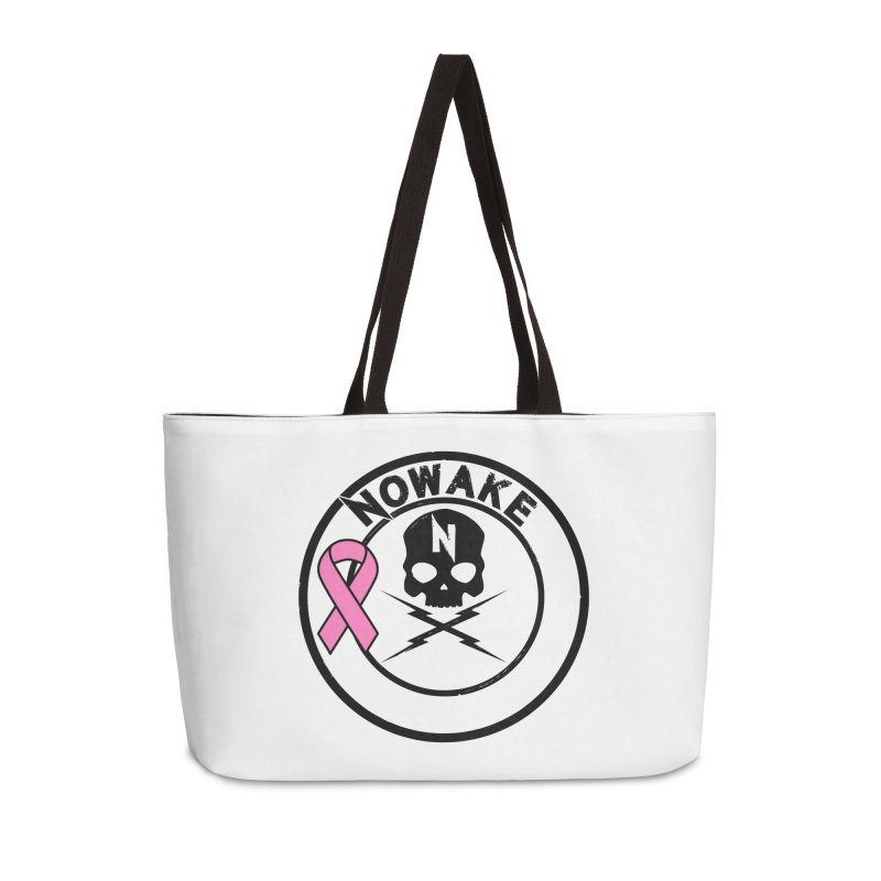 NOWAKE BCA Skull Logo Accessories Bag by NOWAKE's Artist Shop