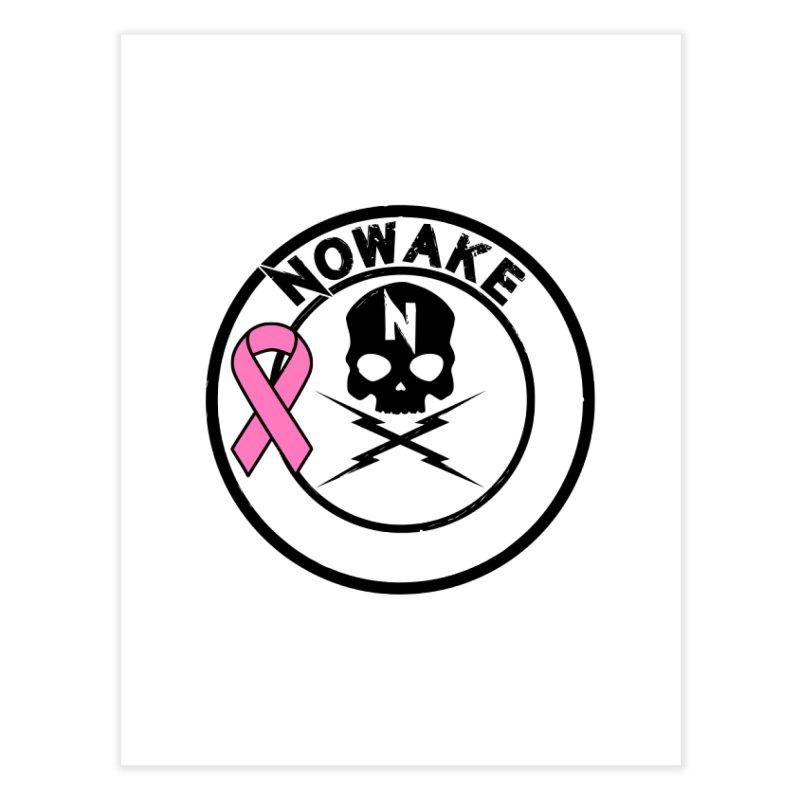 NOWAKE BCA Skull Logo Home Fine Art Print by NOWAKE's Artist Shop