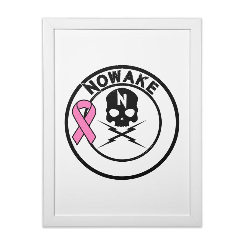 NOWAKE BCA Skull Logo Home Framed Fine Art Print by NOWAKE's Artist Shop