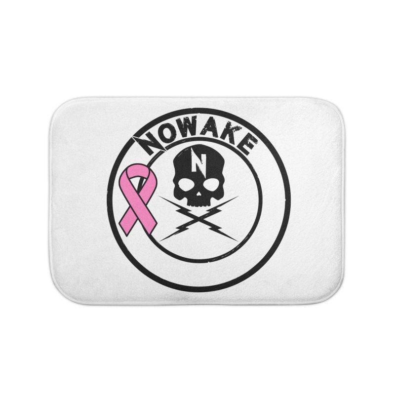 NOWAKE BCA Skull Logo Home Bath Mat by NOWAKE's Artist Shop