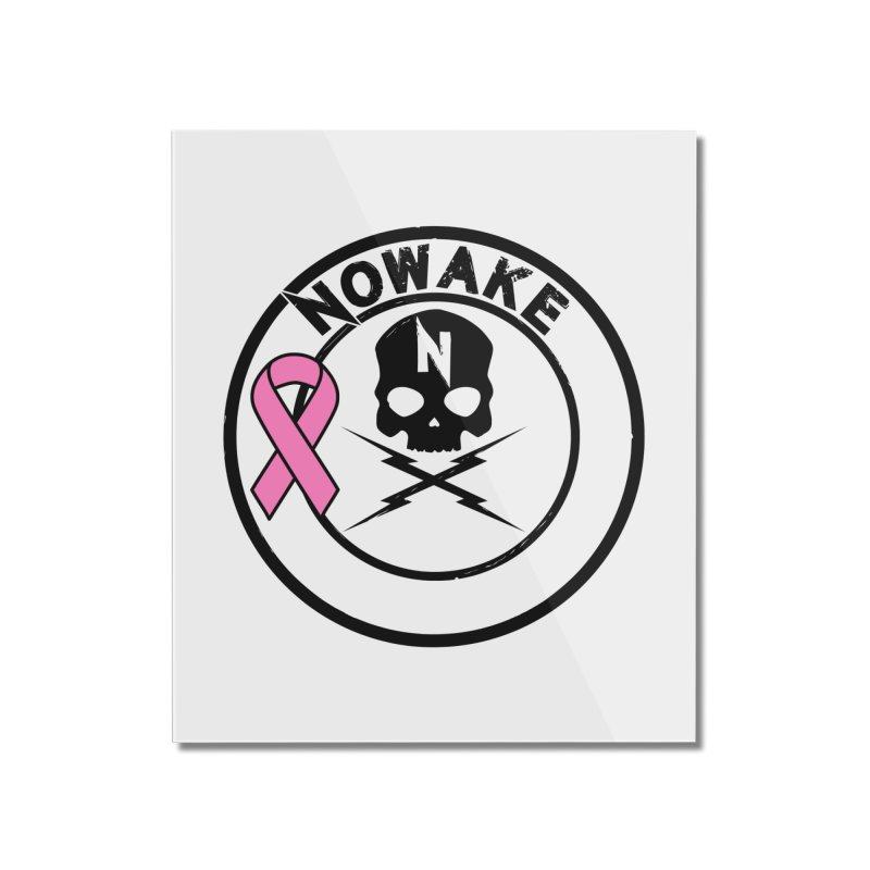 NOWAKE BCA Skull Logo Home Mounted Acrylic Print by NOWAKE's Artist Shop