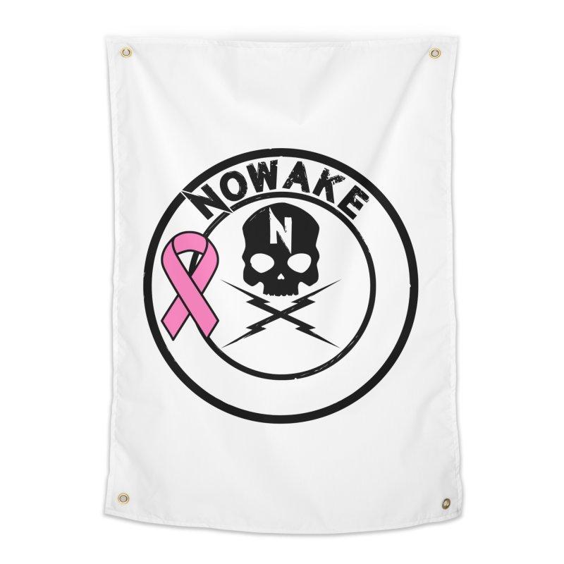 NOWAKE BCA Skull Logo Home Tapestry by NOWAKE's Artist Shop