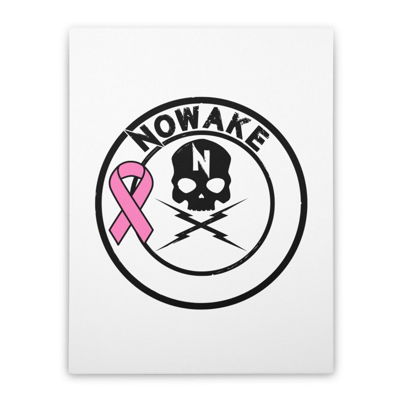 NOWAKE BCA Skull Logo Home Stretched Canvas by NOWAKE's Artist Shop
