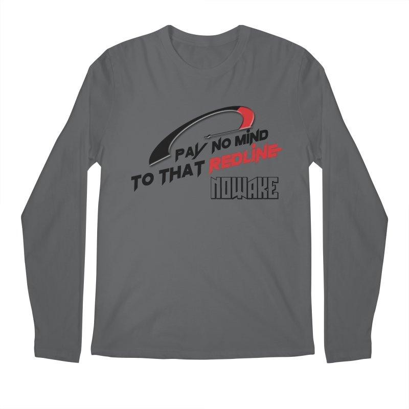 """NOWAKE """"Redline"""" Design Men's Longsleeve T-Shirt by NOWAKE's Artist Shop"""