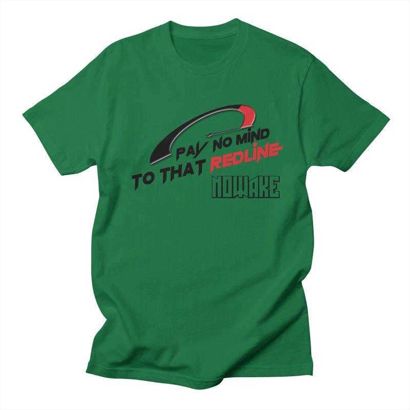 """NOWAKE """"Redline"""" Design Men's Regular T-Shirt by NOWAKE's Artist Shop"""