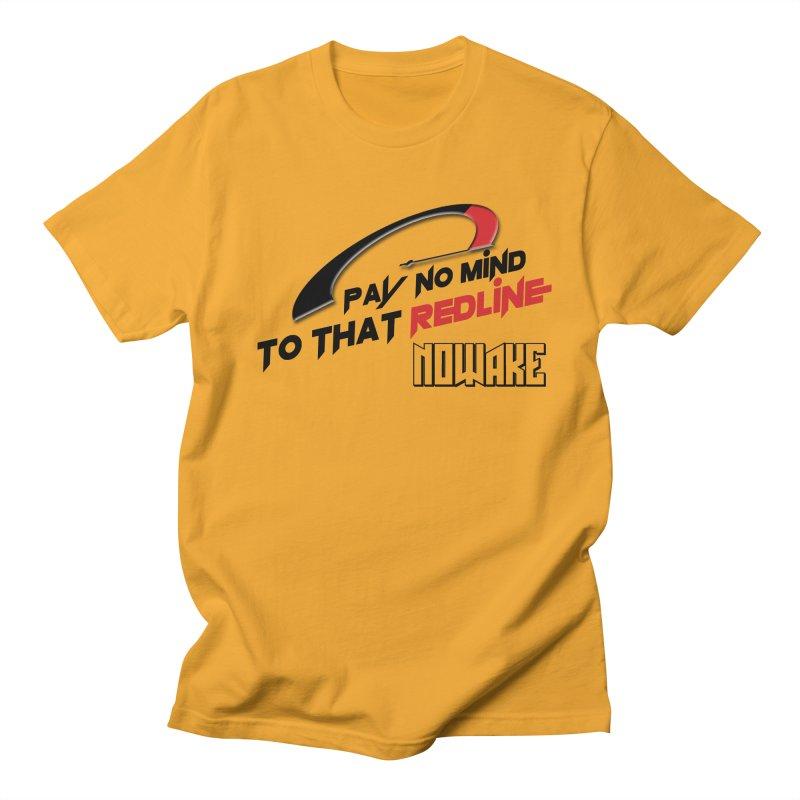 """NOWAKE """"Redline"""" Design Women's Regular Unisex T-Shirt by NOWAKE's Artist Shop"""
