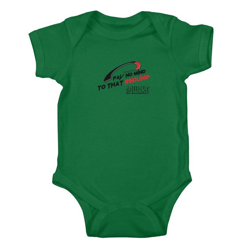 "NOWAKE ""Redline"" Design Kids Baby Bodysuit by NOWAKE's Artist Shop"