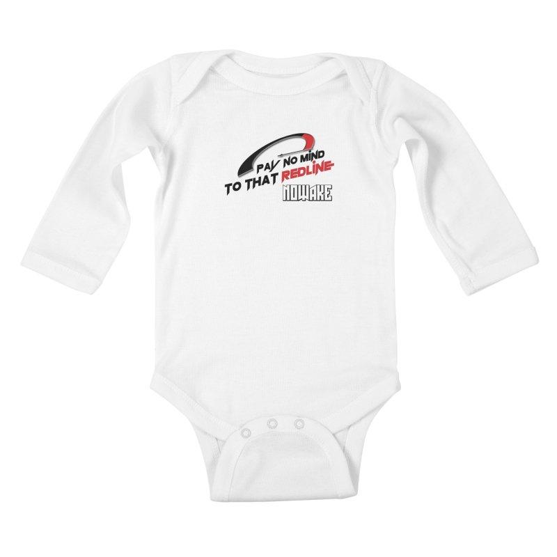 """NOWAKE """"Redline"""" Design Kids Baby Longsleeve Bodysuit by NOWAKE's Artist Shop"""
